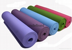 TPE yoga mat with 8mm