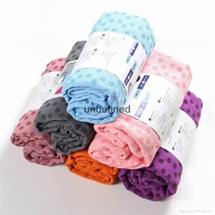 Yuantao hot sell microfiber yoga mat towel