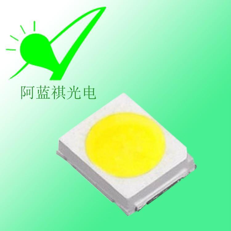 高品質金線銅支架0.2W 2835高亮白光LED燈珠 2
