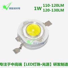 1W仿流明晶元大功率白光LED燈珠