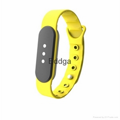 soft silicon sport  wearable watch wristband bracelet smart band