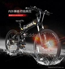 mountain folding electric bike