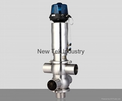 Intelligent Pneumatic Stainless Steel Sanitary Mixproof Valve