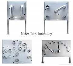 卫生级不锈钢接管板/换流板