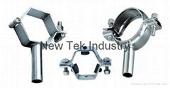 Tube Size Stainless Steel Hexagonal Hangers T304