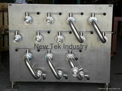 卫生级不锈钢接管板,换流板