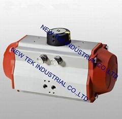 AT50/63 Horizontal Pneumatic Aluminum Actuator Ball Valve, Butterfly valve etc