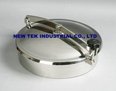 400MM sanitary stainless steel ss304 ss316Lround  manhole, mancover, mandoor