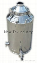 Gal 60L stainless steel SS304 Milk Can Boiler