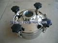 pressure sight glass manhole