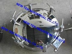 Round Pressure Tank Manway Sanitary SS304 Stainless