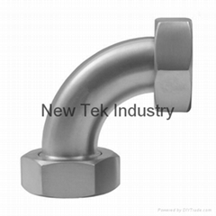 SS 304 3A Sanitary Sweep Elbow