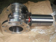 Stainless Steel Pneumatic Flange End Butterfly Valve