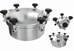 Hygienic Pressure Tank Manhole cover YAD Model