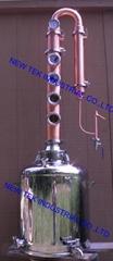 26 gallon Moonshine Stills with 4 Copper Bubble Plates