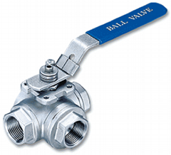 3Way Ball Valve With Mou