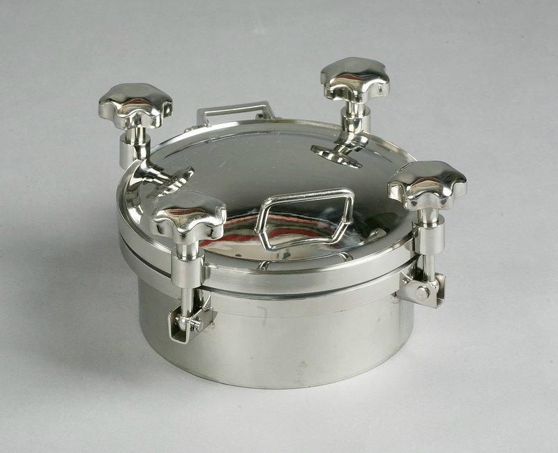 衛生級不鏽鋼壓力人孔 1