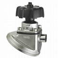 Sanitary Tank Bottom Diaphragm Valve