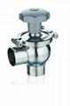 Sanitary Stainless Steel Regulating Va  es Stainless 316L 2