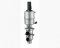 SS316 Pneumatic divert reversing valve