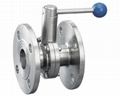 Sanitary Stainless Steel  PN16 Flanged