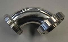 衛生級不鏽鋼活接彎頭