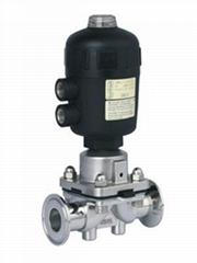 Stainless Steel SS316L Pneumatic Actuator Diaphragm Valves