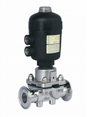 Stainless Steel Ss316L Actuator Pneumatic Diaphragm Valves
