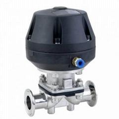 不鏽鋼衛生級氣動隔膜閥