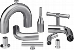 不锈钢卫生级自动焊管件弯头