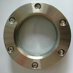 sight glass with flange ends