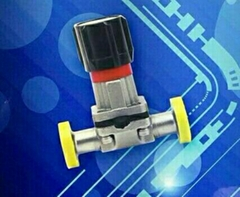 triclamp compact diaphragm valves
