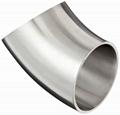 Stainless Steel Sanitary 45 Degree