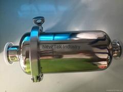 衛生級不鏽鋼直通過濾器