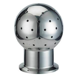 Tri Clamp  Fixed CIP Spray Ball SS304 Sanitary Stainless Steel 1