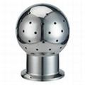 卫生级不锈钢快装固定清洗球