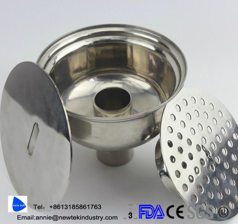 Sanitary Stainless Steel Floor Drain  2