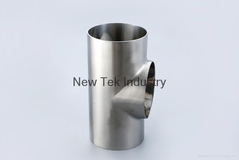 卫生级不锈钢焊接短三通DIN标准 5