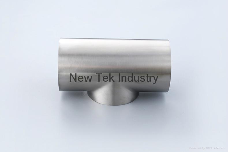 卫生级不锈钢焊接短三通DIN标准 4