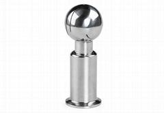 衛生級不鏽鋼快裝旋轉清洗球