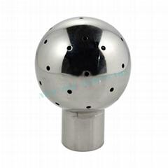 sanitary butt welded cip ball