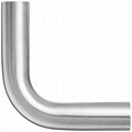 卫生级不锈钢抛光j加长弯头45度 2