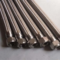 Stainless Steel Flexible Metal Hose with BSPP Female Rotary Coupling 3