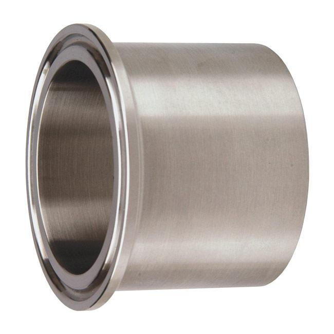 Sanitary Stainless Steel Tri Clamp Thicker Wall Tank Ferrule 1