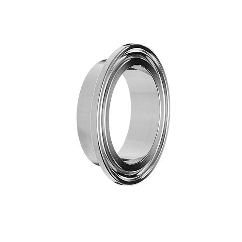 Sanitary Stainless Steel Short Butt Weld Clamp Liner 1
