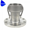 Female Camlock to Flange Stainless 316