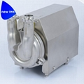 Sanitary self-priming pump