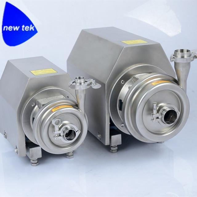 衛生級不鏽鋼離心泵 2