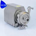 Sanitary Centrifugal Pump with Diaphragm Drain Va  e