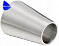 卫生级不锈钢抛光弯头45度 2